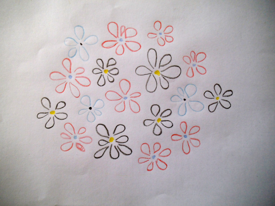 Picture Of Cool Embroidery Project – Flowery Shoulders 3