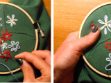 Cool Embroidery Project – Flowery Shoulders4