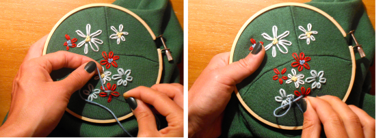 Picture Of Cool Embroidery Project – Flowery Shoulders 4
