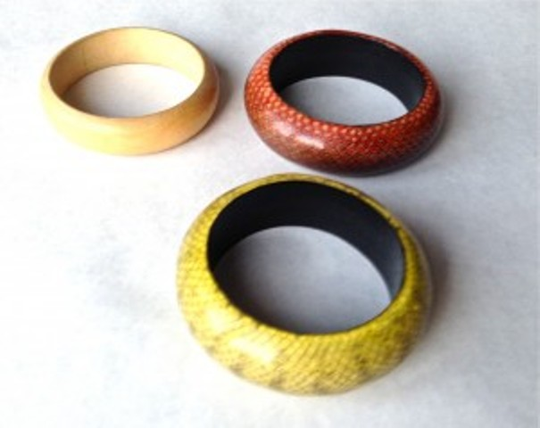 Picture Of Cozy DIY Felted Sweater Bangles 2