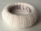 Cozy DIY Felted Sweater Bangles3