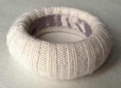 Cozy DIY Felted Sweater Bangles