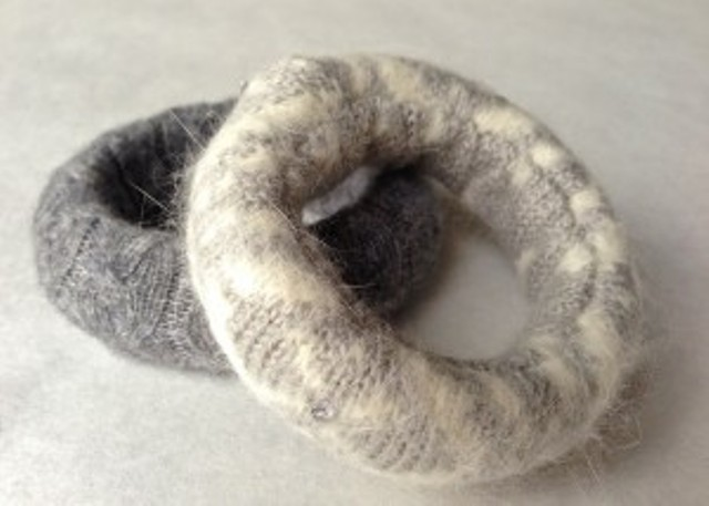 Picture Of Cozy DIY Felted Sweater Bangles 7