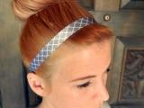 Cozy DIY Ribbon Headband