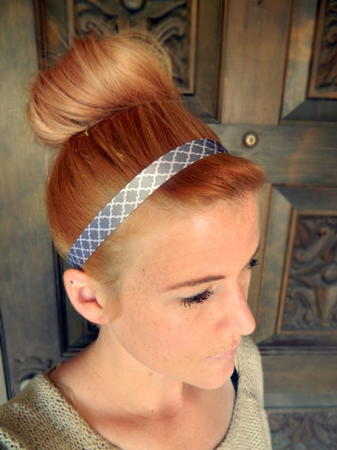 Cozy DIY Ribbon Headband