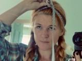 Cozy DIY Ribbon Headband2