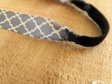 Cozy DIY Ribbon Headband9