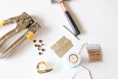Creative DIY Leather Fringe Cuff Bracelet