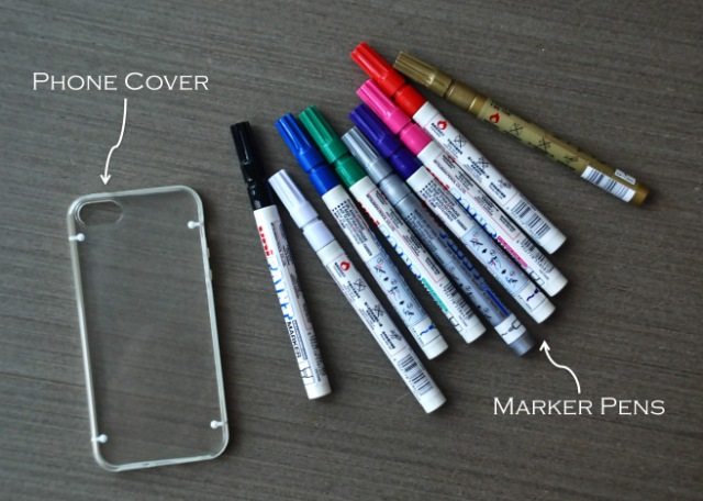 Picture Of Creative DIY Patterned Phone Cover 2