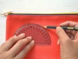 Creative DIY Watermelon Embroidered Clutch3