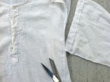 Cute And Delicate DIY Top From Men's Shirt3