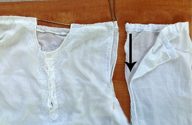 Picture Of Cute And Delicate DIY Top From Men's Shirt 6