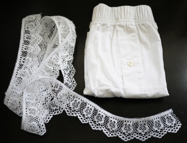 Picture Of Cute DIY Air Lace Shorts 2