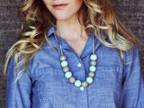 Cute DIY Handmade Bauble Necklace4