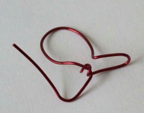 Cute DIY Wire Heart Finger Ring