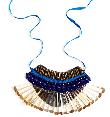 Picture Of DIY A Brand Bib Necklace 6