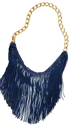 Stylish DIY Fringe Necklace