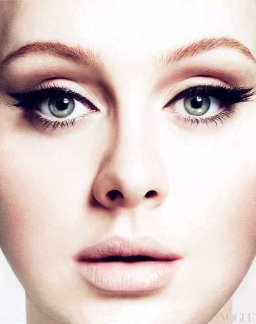 DIY Adele's Eye Make Up