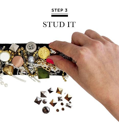 Picture Of DIY Bright Embellished Belt 6