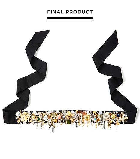 Picture Of DIY Bright Embellished Belt 7