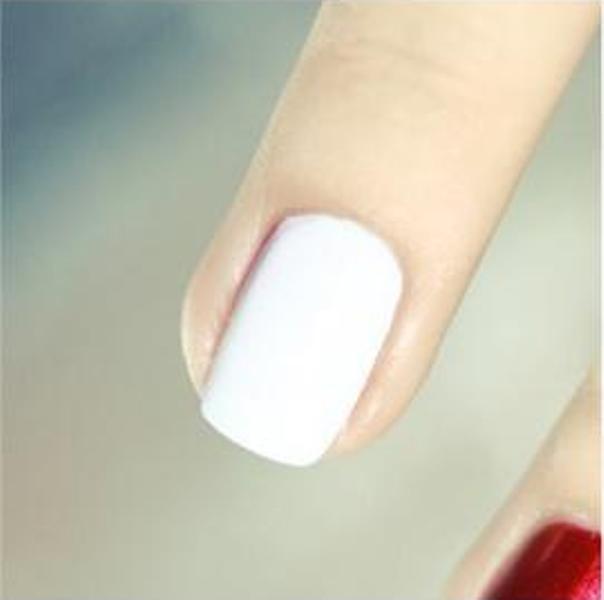 Picture Of DIY Bright Striped Nail Design 2