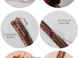 DIY Casual Tiered Chain Collar 4