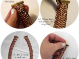 DIY Casual Tiered Chain Collar 5