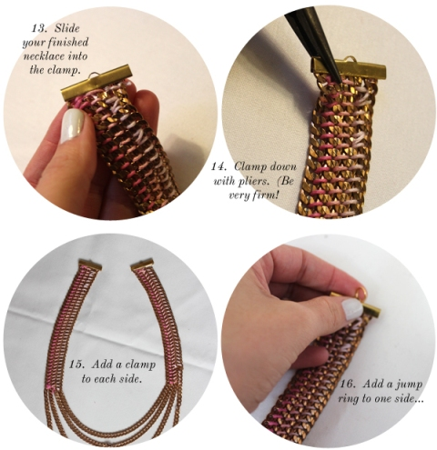 Casual Tiered DIY Chain Collar