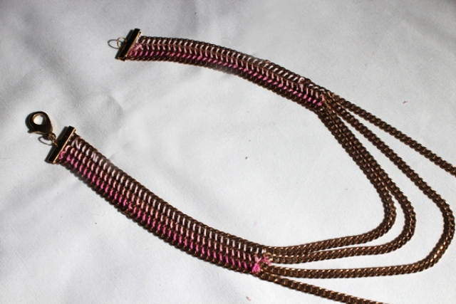 Picture Of DIY Casual Tiered Chain Collar 7