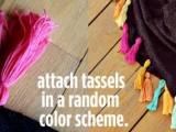 DIY Colorful Tassel Scarf3