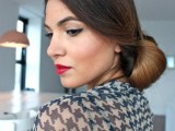 DIY Elegant Hairstyle For The Date 10