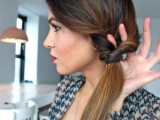 DIY Elegant Hairstyle For The Date 4