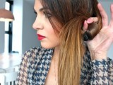 DIY Elegant Hairstyle For The Date 5