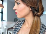 DIY Elegant Hairstyle For The Date 6