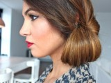 DIY Elegant Hairstyle For The Date 7