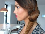 DIY Elegant Hairstyle For The Date 8