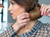 DIY Elegant Hairstyle For The Date 9