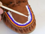 DIY Excellent Beaded Moccasins6