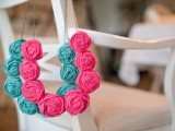 DIY Fabric Rolled Flower Necklace10