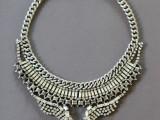 DIY Fabulous Vintage Statement Necklace11