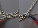 DIY Fabulous Vintage Statement Necklace6