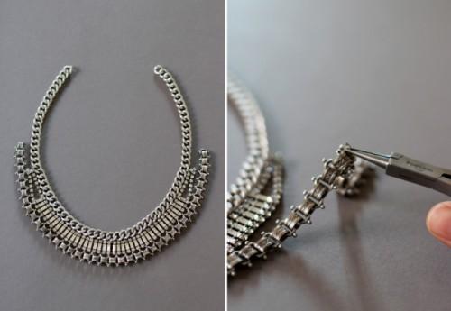 DIY Fabulous Vintage Statement Necklace