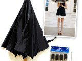 DIY Fashionable Striped Umbrella 2