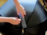 DIY Fashionable Striped Umbrella 3