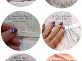 DIY Feather Peplum Top4
