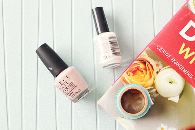 Picture Of DIY Geometric Nail Art In Nude Shades 2