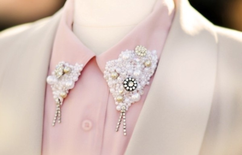 Picture Of DIY Handmade Collar To Make Your Shirt Stylish 1