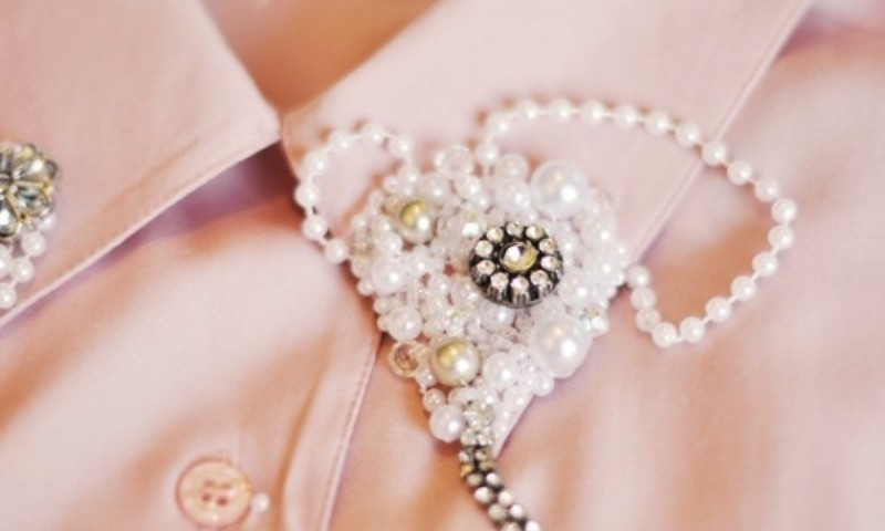 Picture Of DIY Handmade Collar To Make Your Shirt Stylish 5