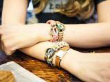DIY Leather And Climbing Rope Macrame Bracelets2