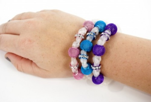 Colorful DIY Bracelet Trio